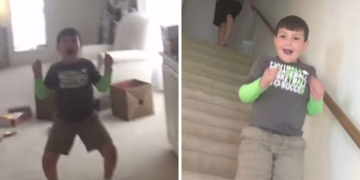 VIDEO: La emotiva reacción de un niño al enterarse que venció al cáncer