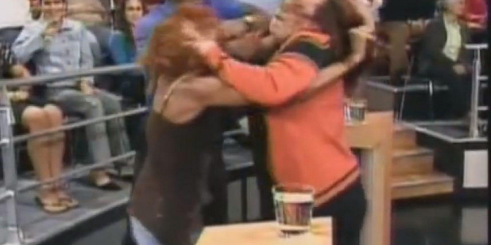 Y más peleas. Foto:Telemundo