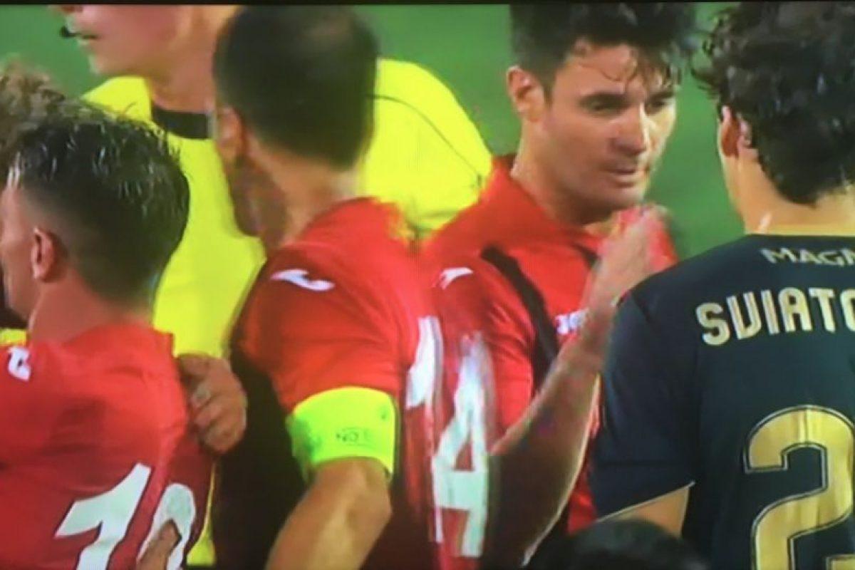Lincoln Red Imps FC es un modesto equipo de Gibraltar y Foto:Captura de pantalla