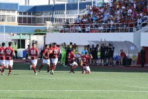 Los gibraltareños han ganado en 14 ocasiones seguidas el título de su liga Foto:footballgibraltar.com