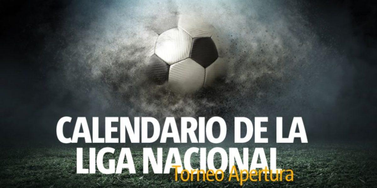 Calendario Torneo Apertura 2016 de la Liga Nacional