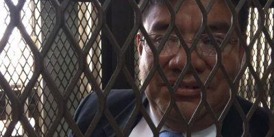 Coronel habla de su convivencia con Otto Pérez en la cárcel