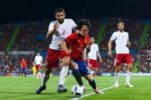 Georgia vence a España en partido amistoso Foto: Getty Images