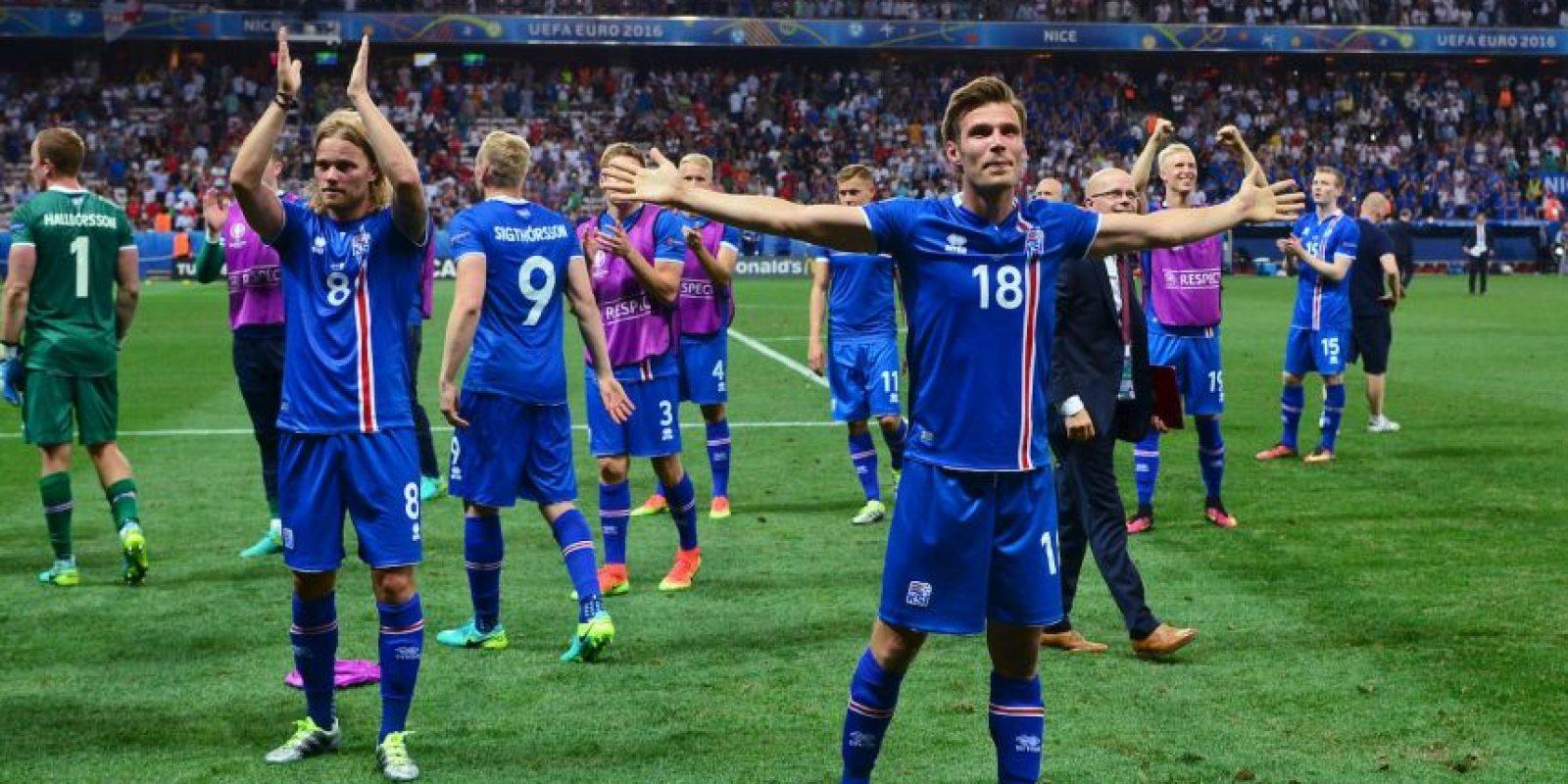 Islandia se mete a cuartos de final de la Euro Foto:Getty Images