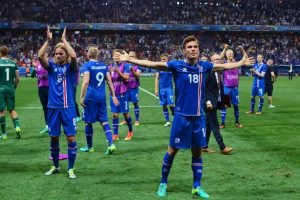 Islandia se mete a cuartos de final de la Euro Foto: Getty Images