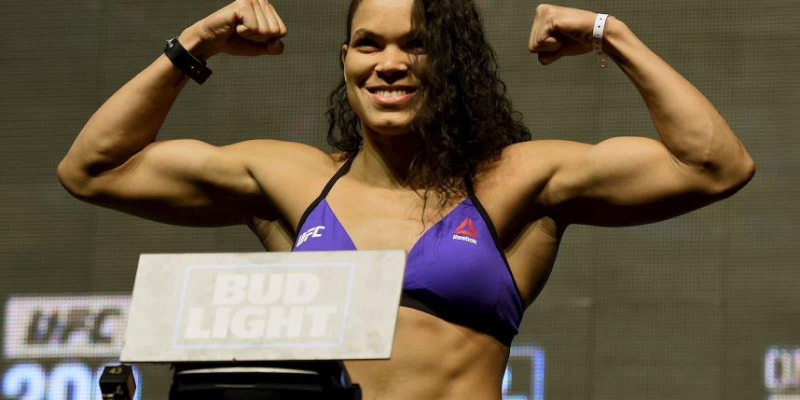 "Amanda Nunes venció a Miesha Tate en la función ""UFC 200"" Foto:Getty Images"