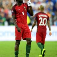 El delantero de 29 años marcó un golazo para darle el título a Portugal Foto:Getty Images