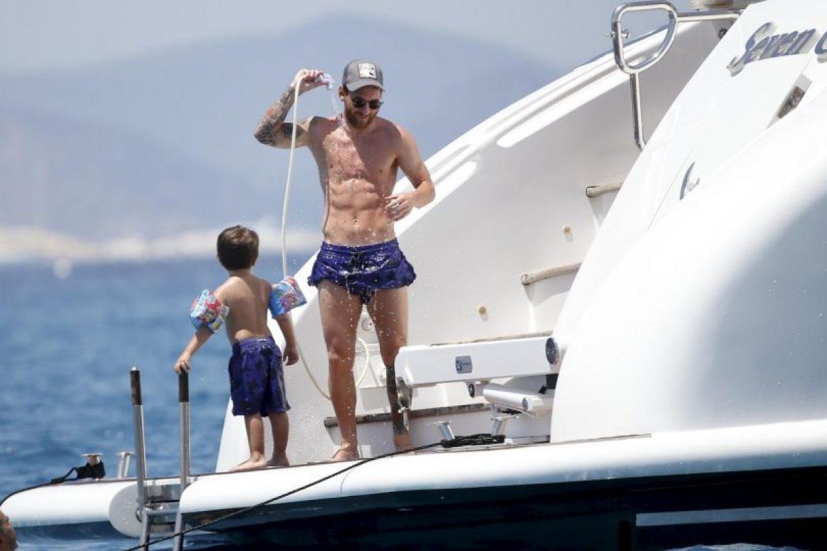 Las vacaciones de Lionel Messi y su familia Foto:Grosby Group