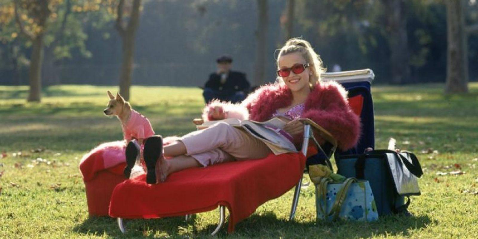 """La cinta se estrenó en 2001 Foto:Facebook """"Legalmente rubia"""""""