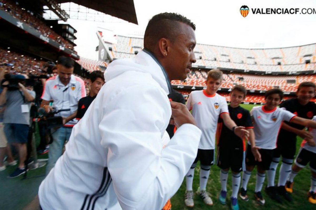 Valencia pegó en el palo con el fichaje de Nani, quien fue anunciado antes de que fuera campeón de la Eurocopa y le hiciera un gol a Gales en las semifinales Foto:Twitter Valencia