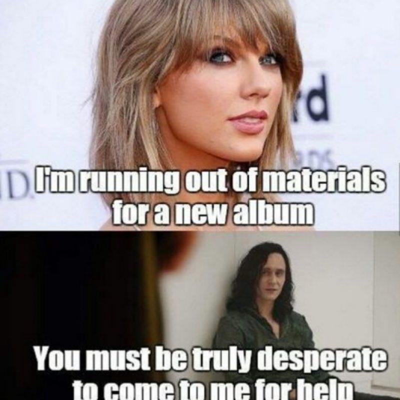 Se burlaron de ella desde que comenzó con su relación con Tom Hiddleston. Foto:vía Twitter