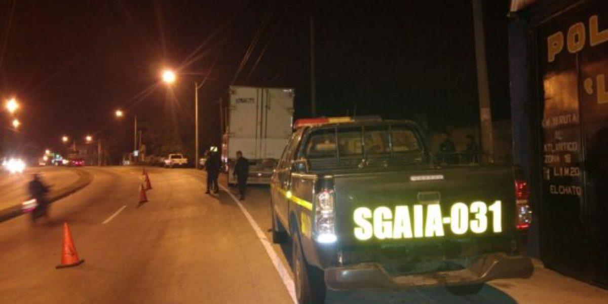 Interceptan tráiler con 100 paquetes de droga  en ruta al Atlántico