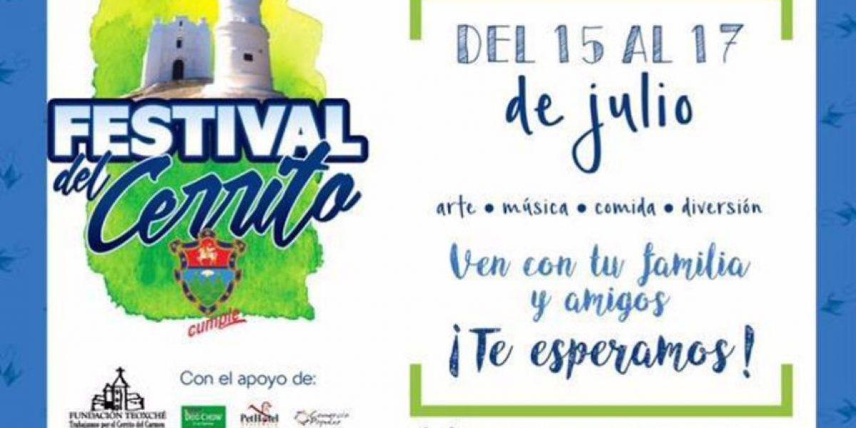 ¡Mañana inicia el Festival del Cerrito!