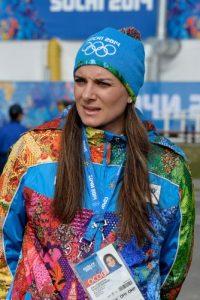Yelena Isinbayeva se vio empapada por el problema de dopaje de la Federación de Rusia Foto:Getty Images