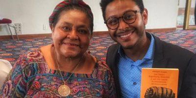 Kalimba comparte emotivo mensaje tras su reunión con Rigoberta Menchú