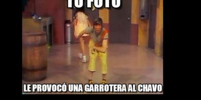 """Las garroteras de """"El Chavo"""". Foto:vía Twitter"""