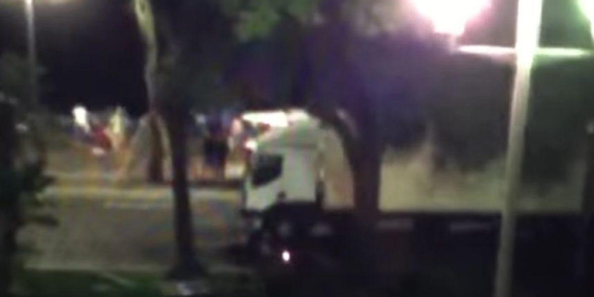 VIDEO. Motorista intentó detener el camión que embistió a decenas de personas