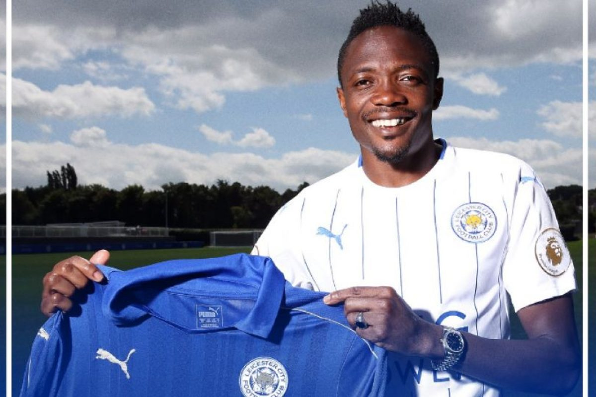 Ahmed Musa tiene sólo 23 años Foto:Twitter Leicester