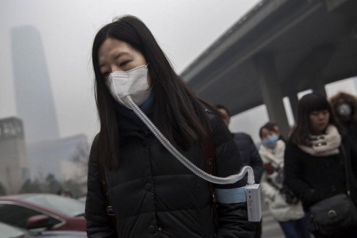 Cada año aproximadamente 6,5 millones de muertes están vinculadas a la contaminación del aire Foto:Getty Images