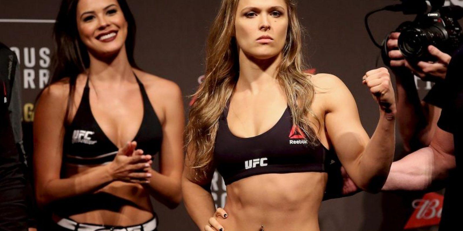 Ronda Rousey fue campeona por casi tres años Foto:Getty Images