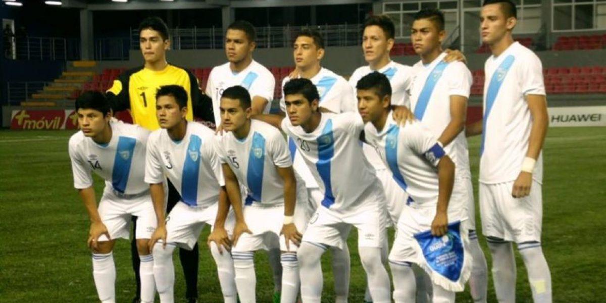Guatemala se juega hoy el boleto al Premundial Sub-20