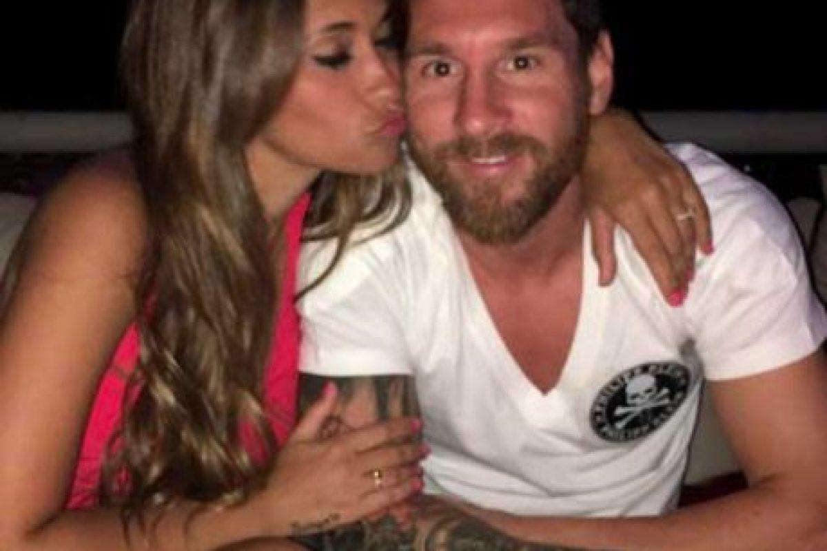 Lionel Messi y su familia están de vacaciones en Ibiza. Foto:Vía instagram.com/antoroccuzzo88