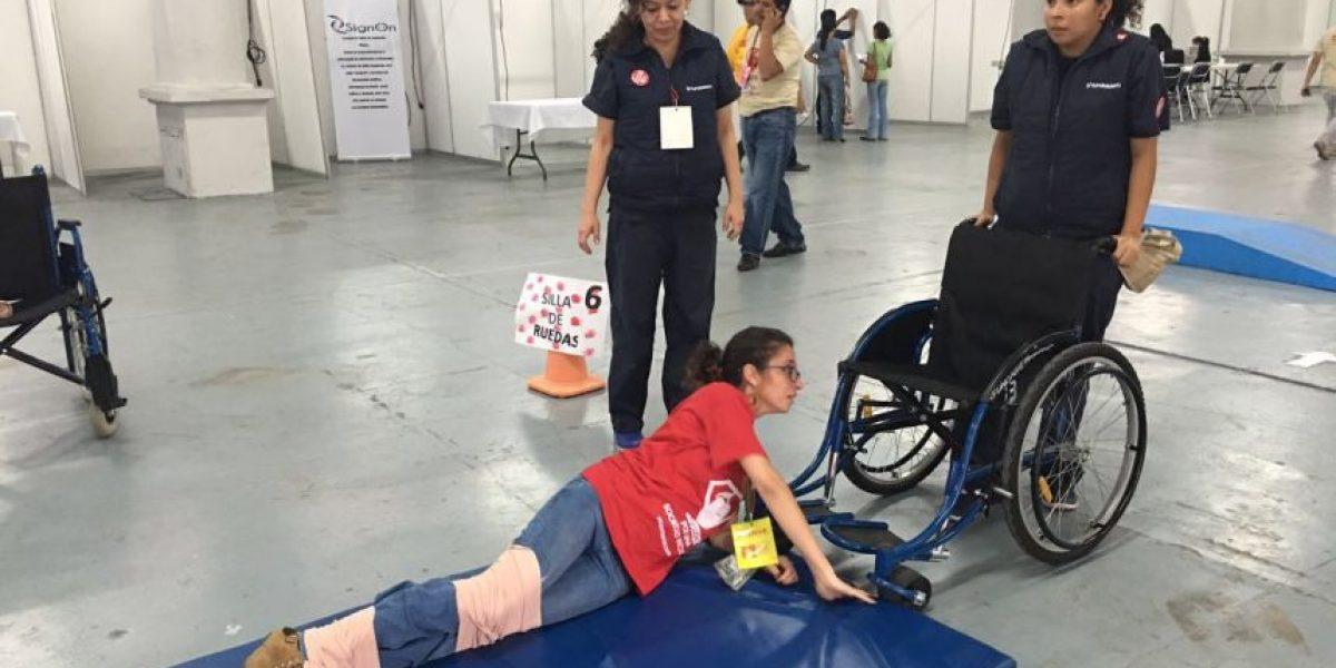 El rally de Teletón, para crear conciencia sobre discapacidades