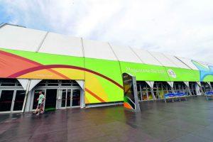 Con más de tres mil productos con licencia, la tienda oficial de los Juegos se montó en las playas de Copacabana. Foto:BRUNA PRADO / METRO RIO