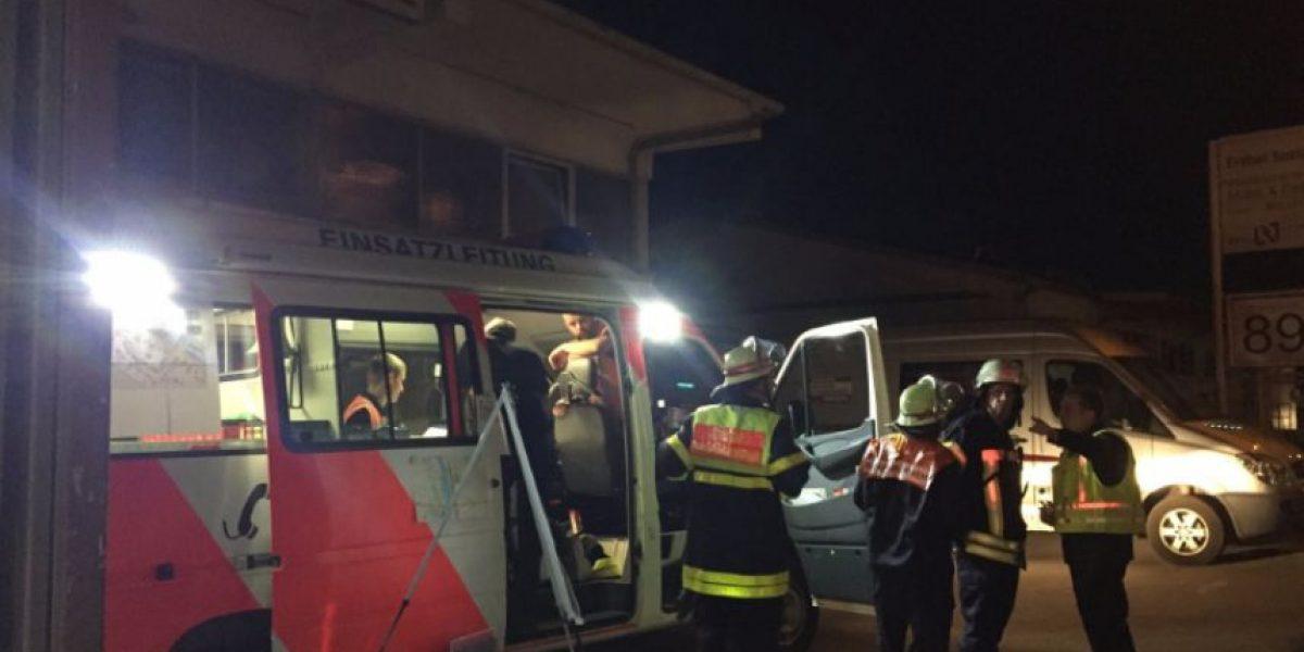 Más de 20 heridos en ataque a tren de pasajeros en Alemania