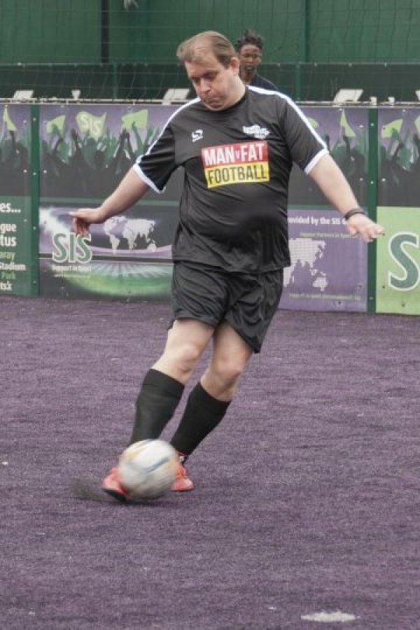 Man V Fat: La liga de fútbol donde perder peso es la meta. Foto:manvfatfootball.org