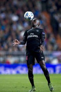 Blaise Matuidi. Sus pertenencias de su casa fueron robadas, mientras jugaba un partido de Champions entre PSG y Chelsea Foto:Getty Images