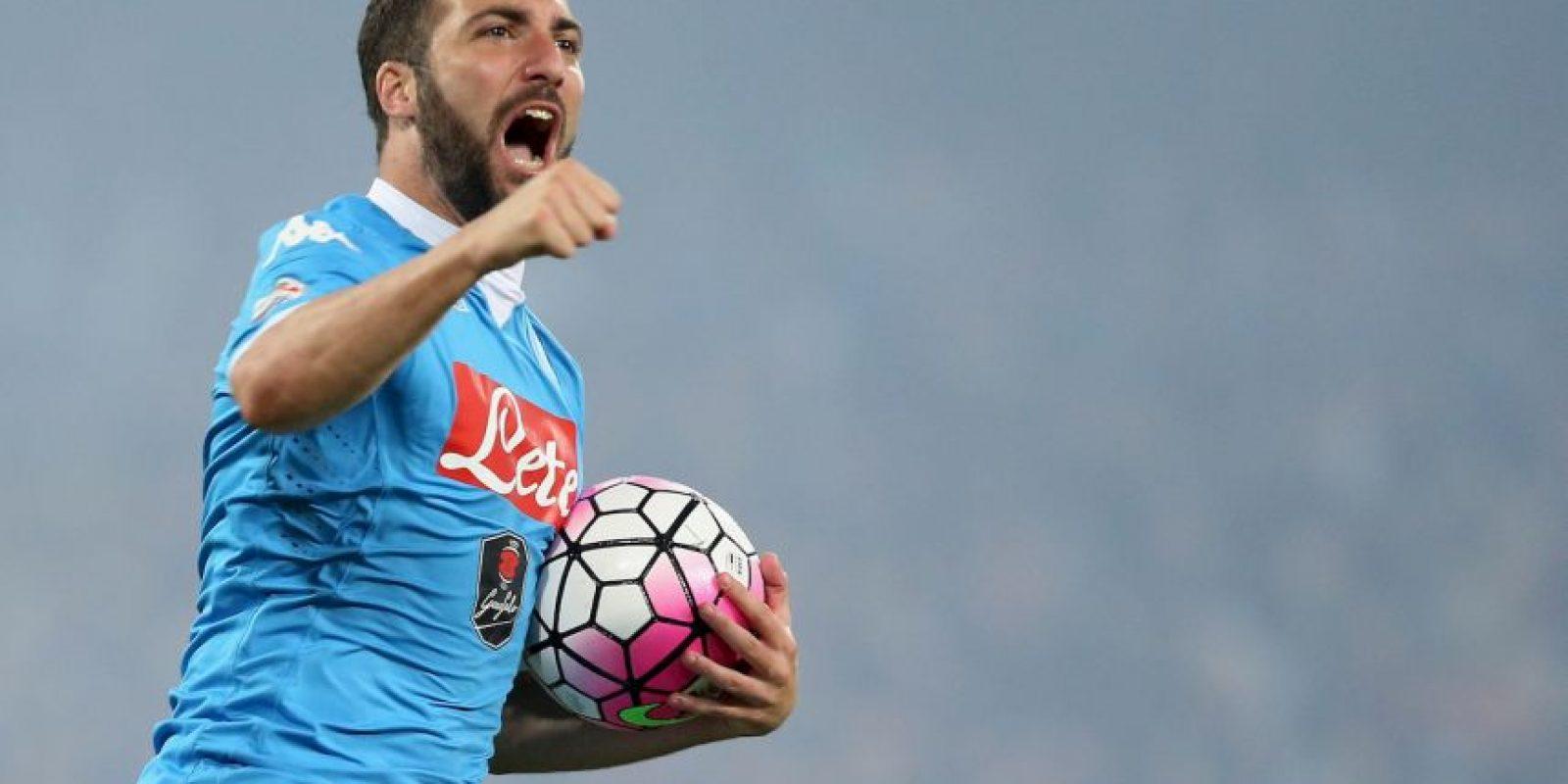 Gonzalo Higuaín se lució en la temporada pasada con su poder goleador Foto:Getty Images