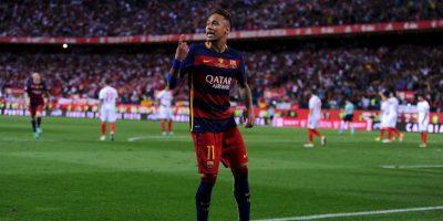 Neymar tampoco entró en la lista de los diez candidatos para mejor de Europa Foto:Getty Images
