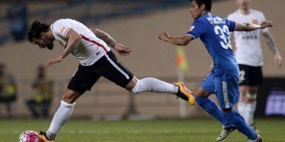Ezequiel Lavezzi dejó la temporada pasada el PSG para firmar en China, donde gana 20,8 millones de euros Foto:AFP