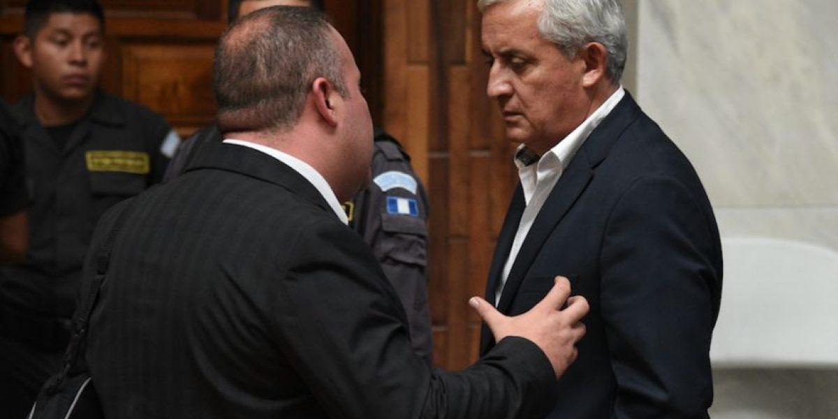 Expresidente Pérez y el exministro Mauricio López opinan sobre la muerte de Byron Lima