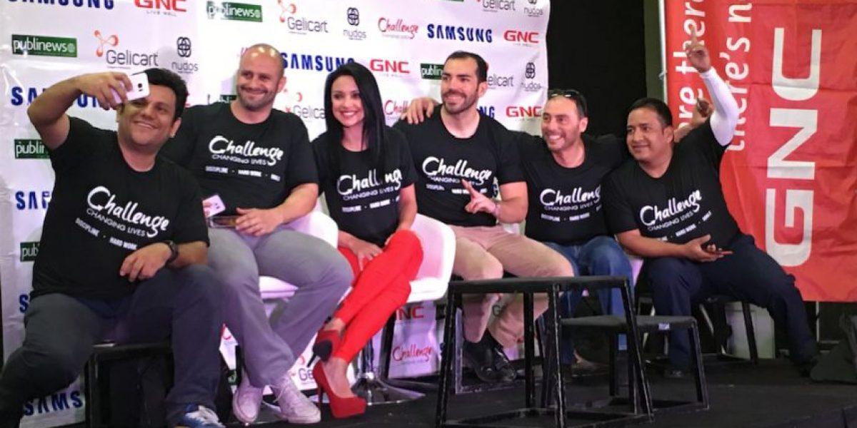 Celebridades de Guatemala aceptan el reto de World Gym