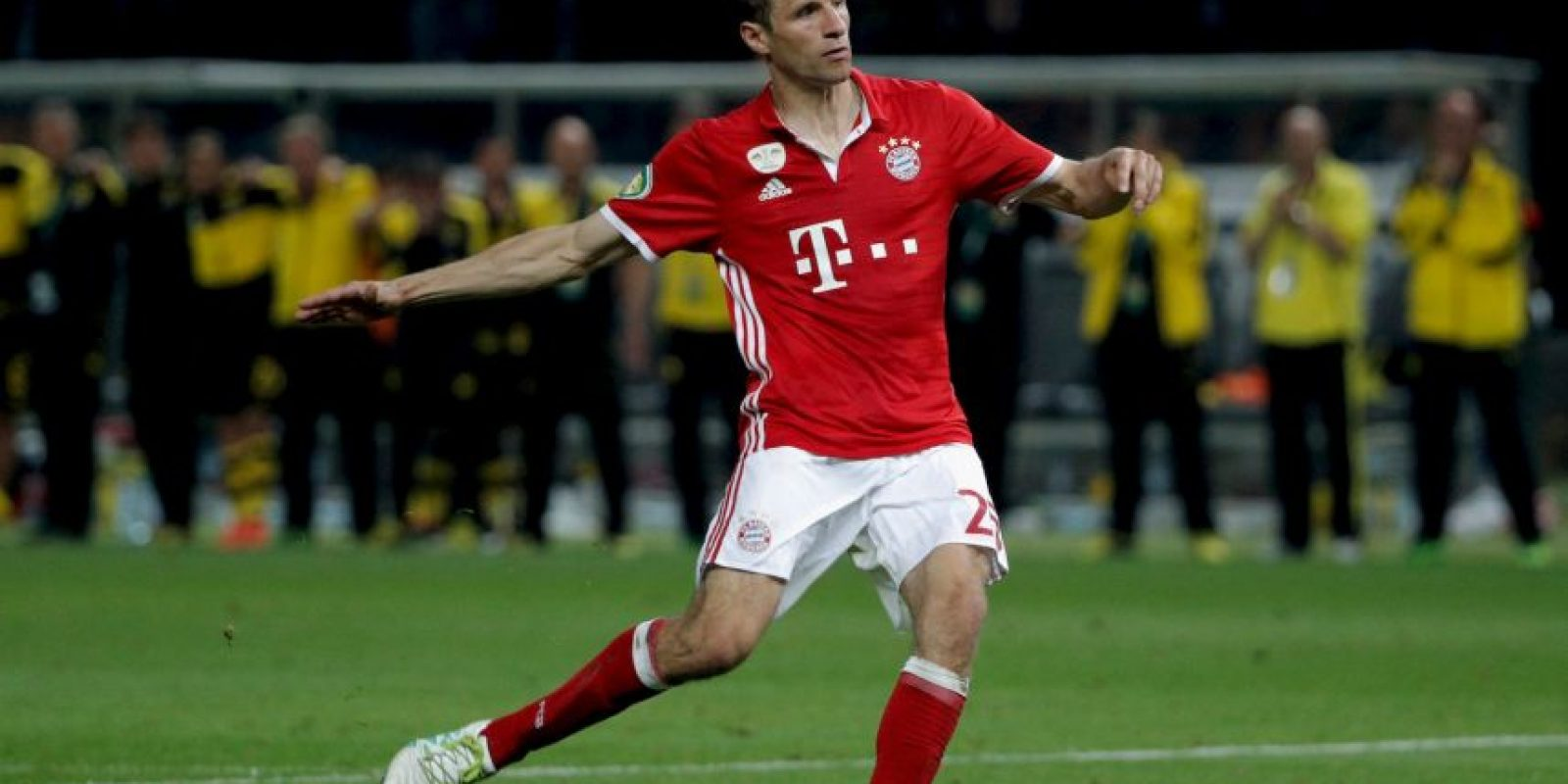 Thomas Muller está en el mismo piso que los delanteros recientemente incorporados a la Liga de China Foto:Getty Images