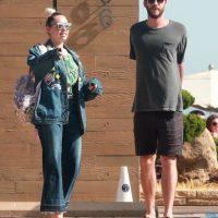 Así han sido captados Liam y Miley recientemente Foto:Grosby Group