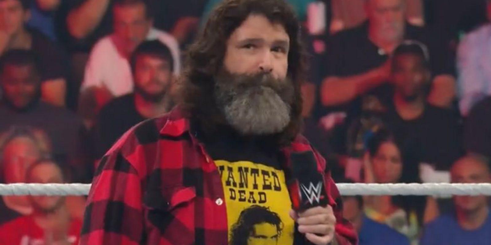 Foley será la mano derecha de Stephanie McMahon en Raw Foto:WWE