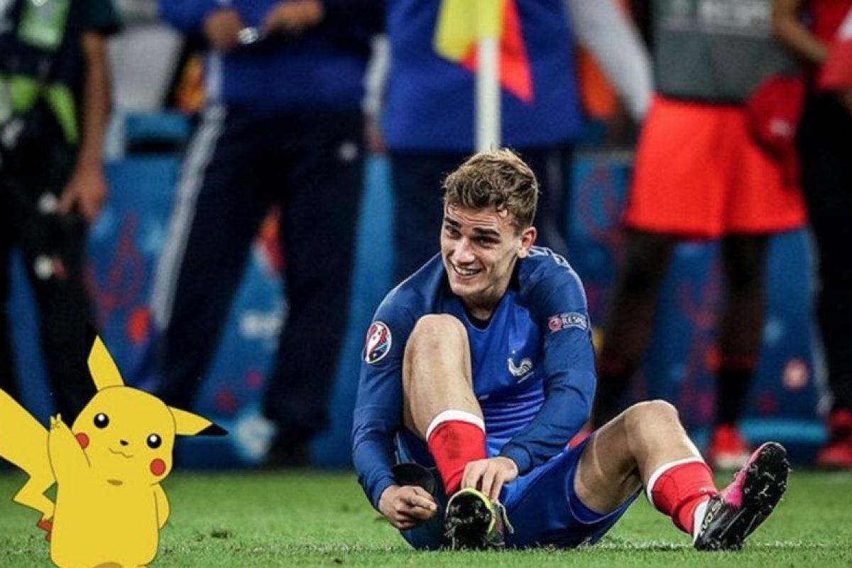 Antoine Griezmann también se unió a la fiebre de Pokémon Go Foto:Instagram Antoine Griezmann