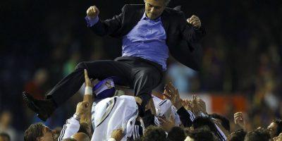 El técnico atesora el momento en que le ganó la Copa del Rey a Barcelona en Mestalla Foto:Getty Images