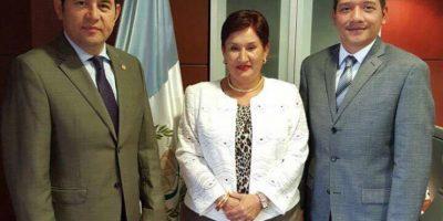 Mandatario se reúne con fiscal general y hablan sobre el suceso en Pavón, en donde murió Byron Lima