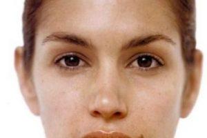 Con la cara sin maquillaje. Foto:vía Getty Images