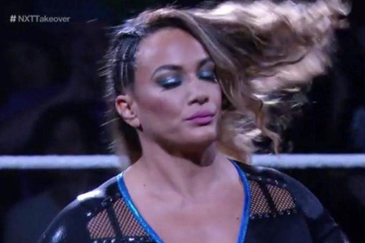 Su nombre real es Savelina Fanene Foto:WWE
