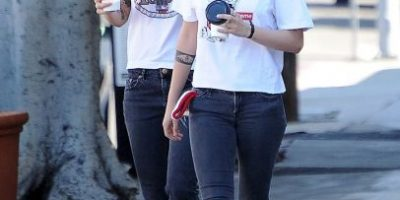 Kristen Stewart y su novia ya no se esconden y se besan en público