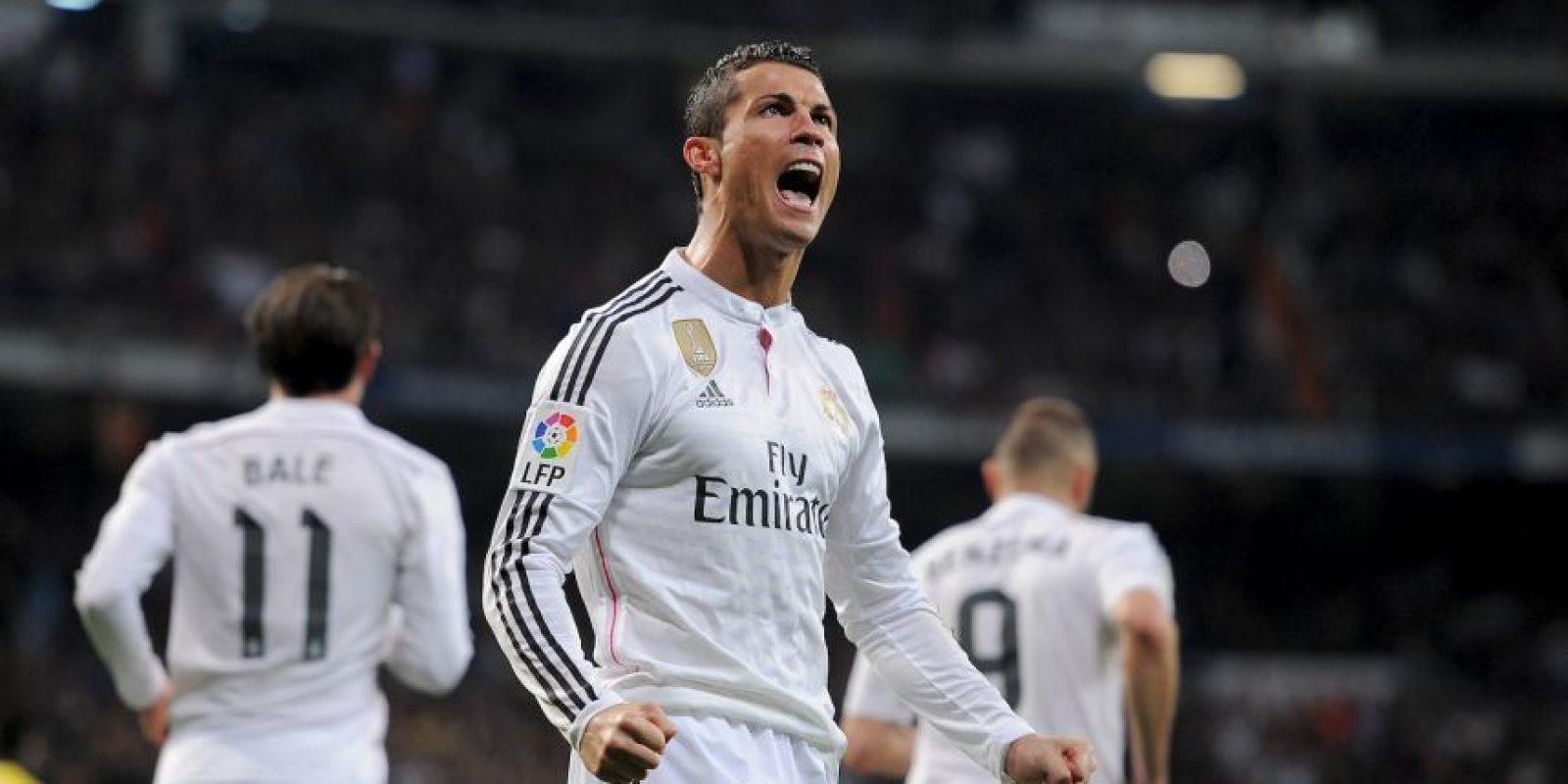 2. Cristiano Ronalo. El Madrid pagó 94 millones de euros al Manchester United, en 2009 Foto:Getty Images