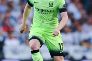Kevin de Bruyne. 75 millones de euros pagó Manchester City a Wolfsburgo, la temporada pasada Foto:Getty Images