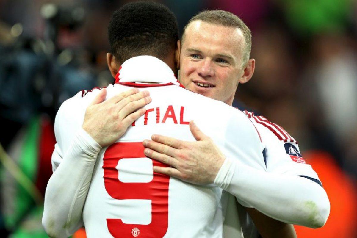Martial le cede el número al fichaje estrella y utilizará la 11 Foto:Getty Images