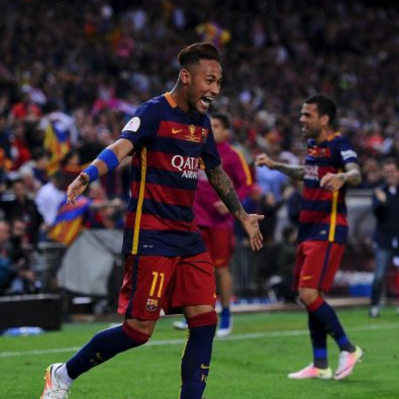 3. Neymar. 86 millones de euros costó el brasileño al Barcelona, en 2013 Foto:Getty Images