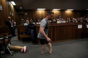 Oscar Pistorius enfrenta una pena de seis años por el asesinato de Reeva Steenkamp Foto:Getty Images
